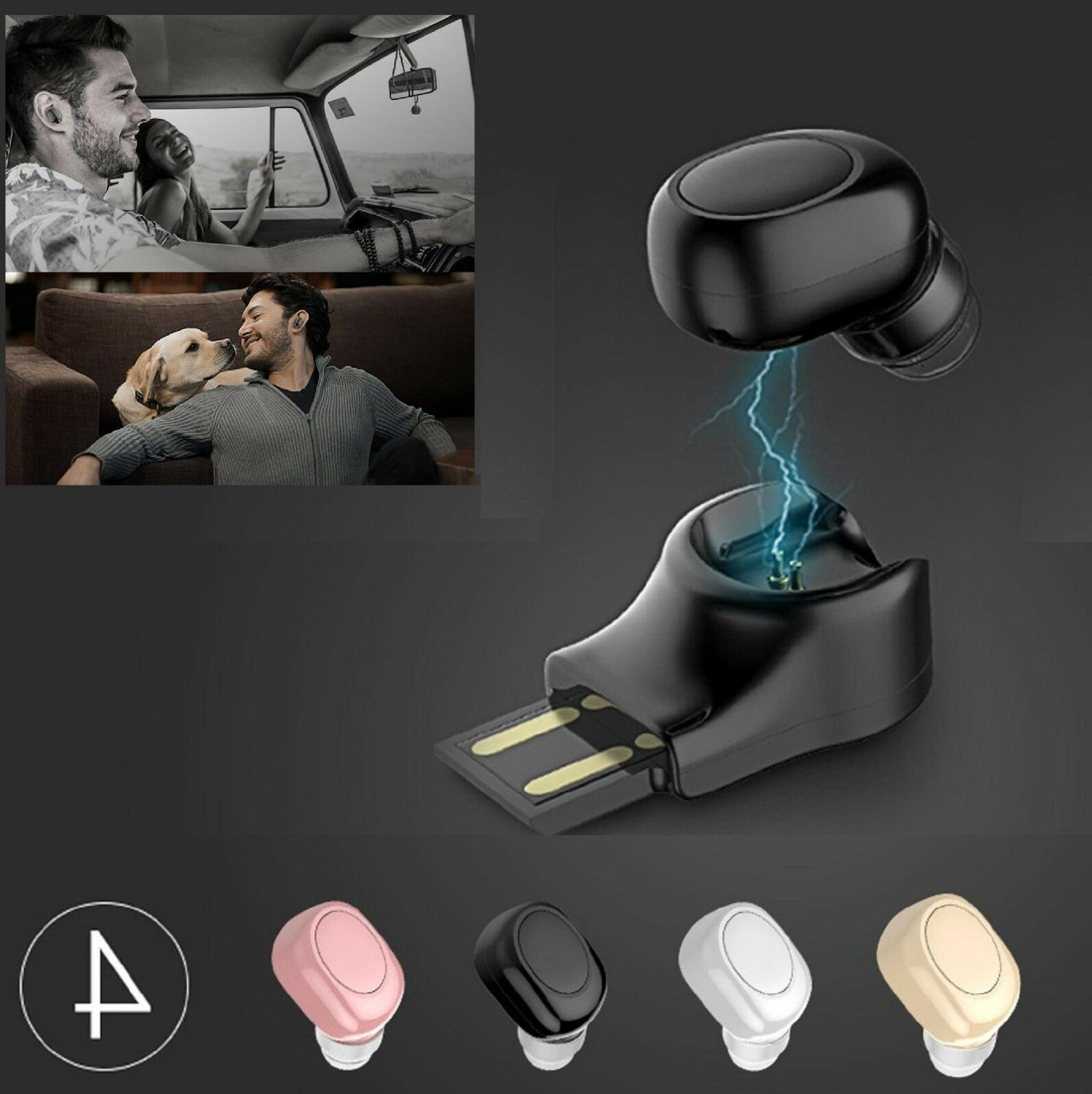 mini bluetooth 4 1 stereo headset in