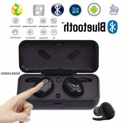 mini wireless bluetooth earphone stereo earbud headset