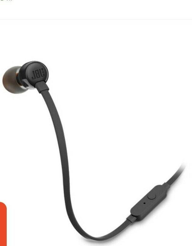 NEW 110 Wired In-Ear Headphones Remote Control+