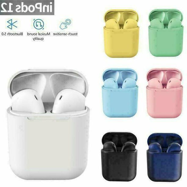 new wireless bluetooth earbuds with charging case