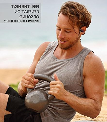 ONE The Headphones - Ear Buds for Running Sport Workouts - Built-in IPX7 Waterproof