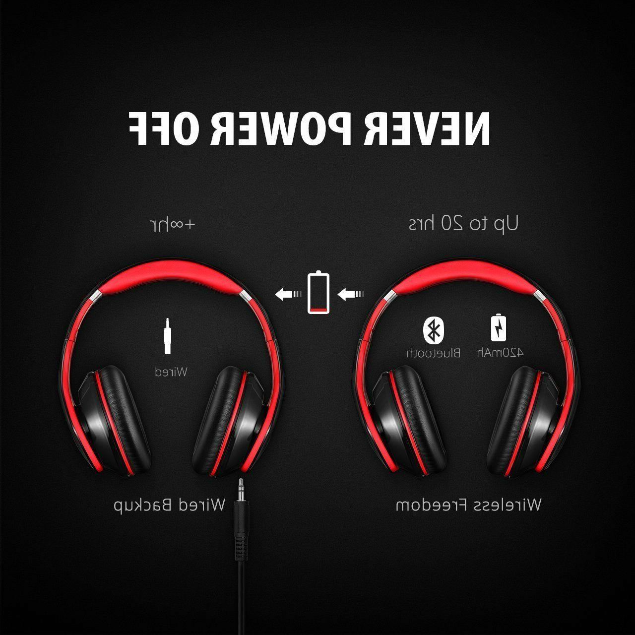 Mpow Earmuffs Headphones for PC/Cell/TV