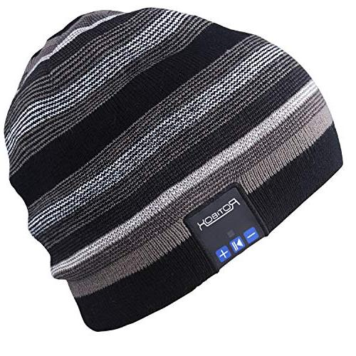 rechargeable bluetooth audio beanie fashional