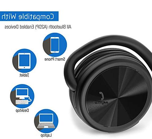 BESIGN Bluetooth Headphones, Wireless Sports for and to 25 Music time