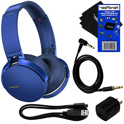 sony bluetooth wireless over ear headphones