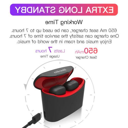 Bluetooth Earphones with charging box