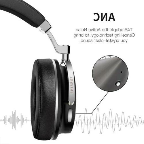 Bluedio T4S Active Cancelling Bluetooth with Mic