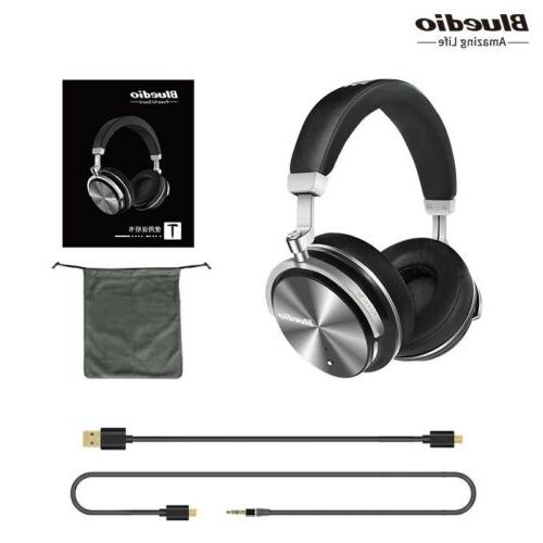 t4s active noise cancelling wireless bluetooth headphones