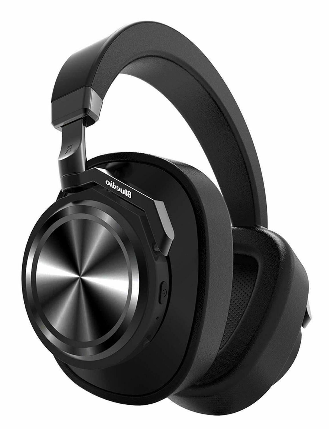 t6 active noise cancelling headphones with mic