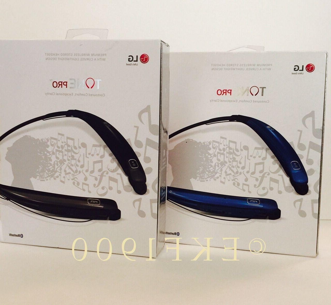LG Electronics Pro HBS-770 Headphones - Packaging - Black