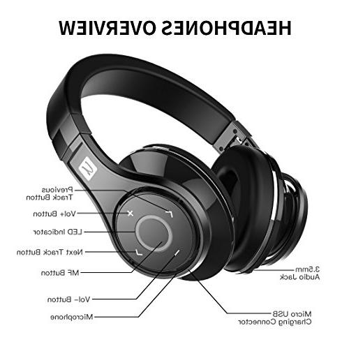 Bluedio U build/Hi-Fi Over-Ear headsets with case
