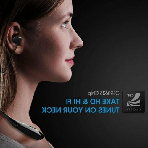 Mpow Gen-5 Bluetooth 5.0 Headphone Headset Mic