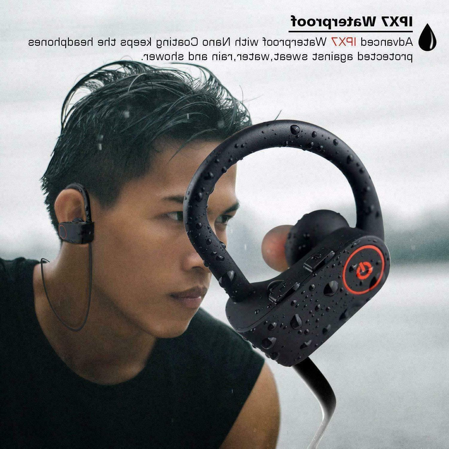 Waterproof Earbuds Sports Wireless Ear Headset