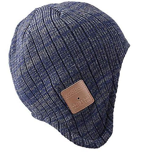 winter trendy bluetooth beanie hat