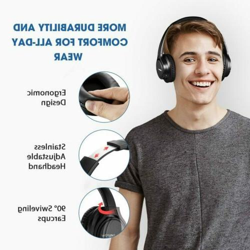 Wireless Active Cancelling Stereo Mic H5 Mpow