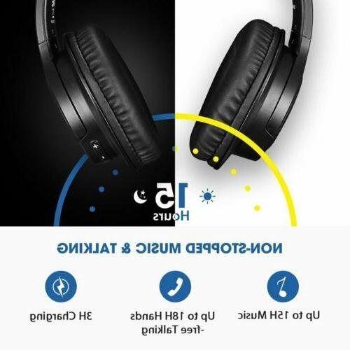 Wireless Bluetooth Cancelling Stereo Mic H5 Mpow