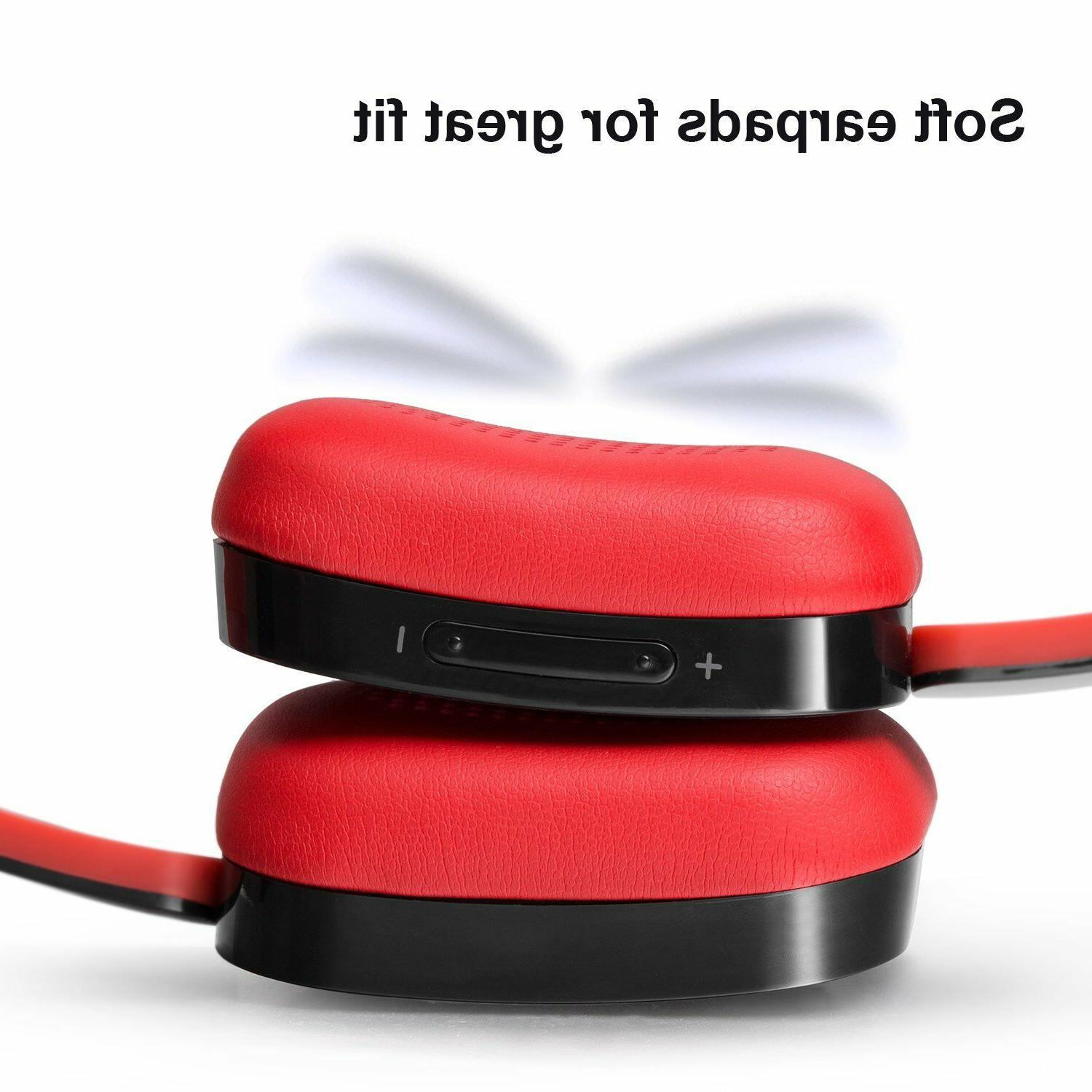Wireless Stereo Earphones Headset 3.5 Aux-in