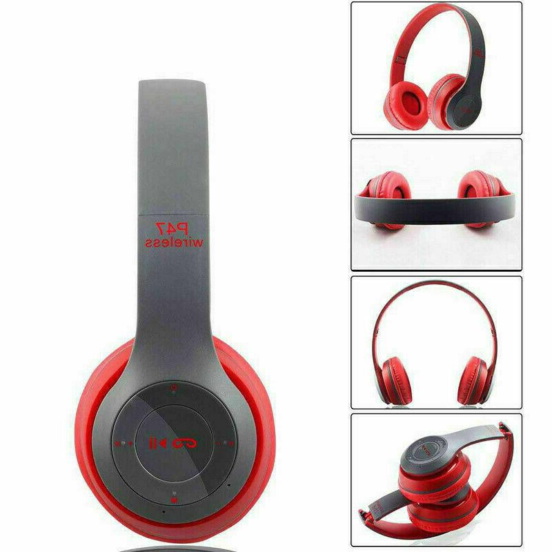 Wireless Bluetooth Foldable Stereo Noise Cancelling Mic US