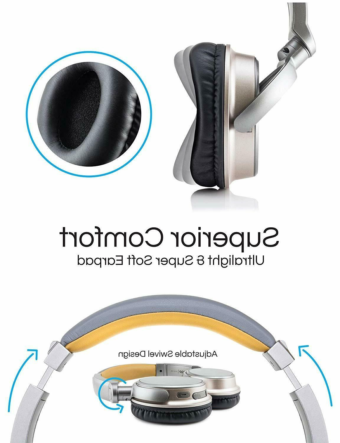 Wireless Stereo Super Headset Over the