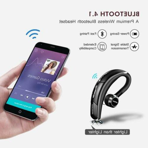 Drving Headphones Ear-Hook Mic