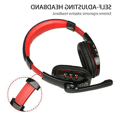 Bluetooth Wireless for PC PS4 With Mic Control