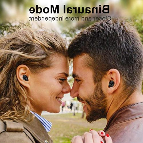 Wireless True Wireless Earbuds Playtime Sound Bluetooth Mic Charging