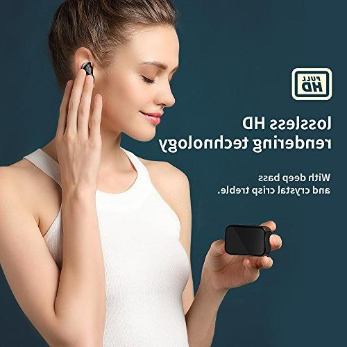 Bluetooth Wireless Bluetooth Earbuds Charging Case 20H 3D Stereo Sound Headphones Built-in