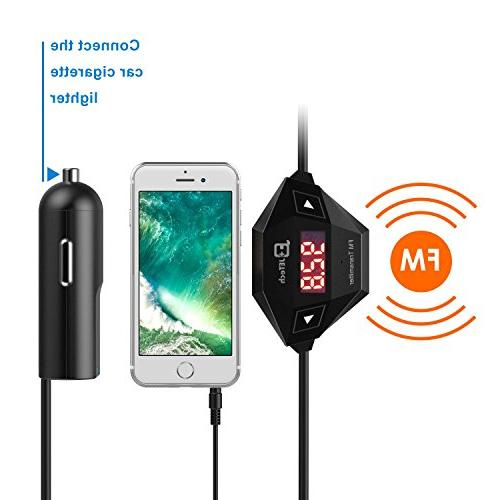 Radio Car Smart Phones Bundle 3.5mm and Car Charger,