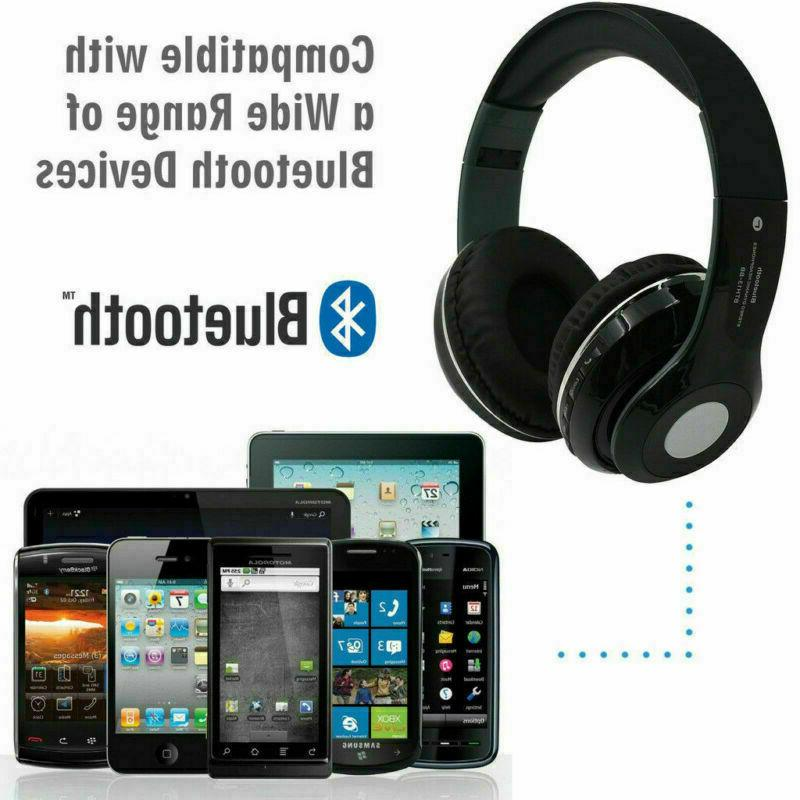Wireless Bluetooth Foldable Over Ear