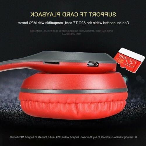 Wireless Headphones Bluetooth Over Ear Foldable Cancelling