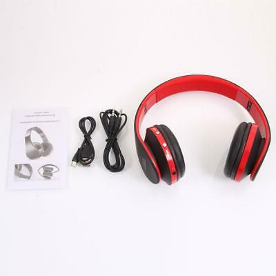 Wireless Headphones Stereo Foldable Noise Cancelling USB Cable