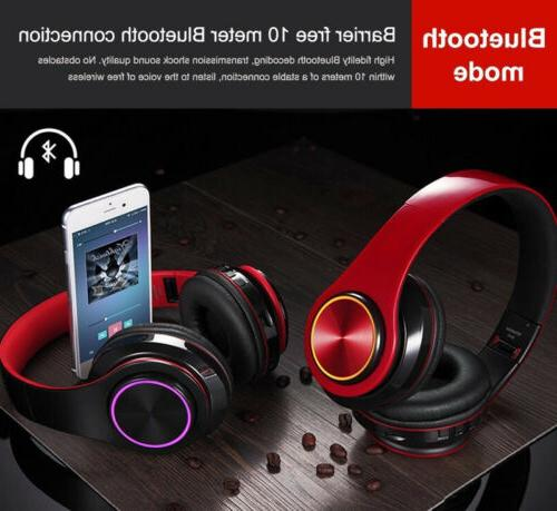 Bluetooth Foldable Stereo Headsets