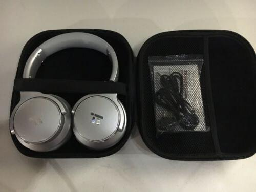 wireless headset over ear with bluetooth headphones