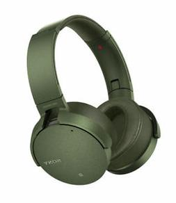 -SONY-MDRX950NG GREEN SONY NOISE-CANCEL-XTRA BASS B ACC NEW