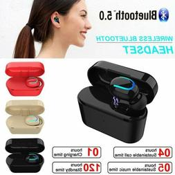 Mini True Wireless Earbud Bluetooth 5.0 Headphone Earpiece H