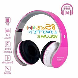 new kids bluetooth wireless headphones wired on