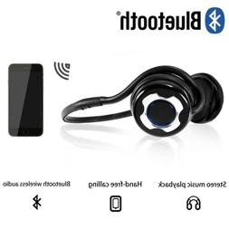 Noise Cancelling Bluetooth Wireless Headset Over The Ear Hea