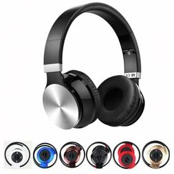 Noise Cancelling Wireless Bluetooth Headphone Mic-Headsets E