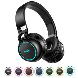 Picun P60 Wireless Bluetooth Headphone Stereo Over Ear Heads