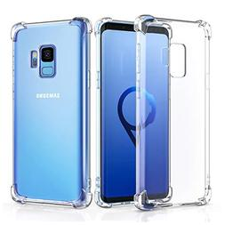 Alaxy Phone Case Compatible with Galaxy S9 Cases, Clear Thin