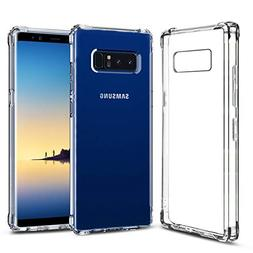 Alaxy Phone Case Compatible with Galaxy Note 8 Cases, Clear