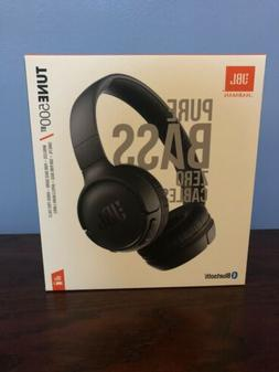 JBL Pure Bass Zero Cables Tune 500 BT Bluetooth Headphones B