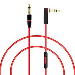 MOYAKA Replacement Control Talk Cable for Beats by Dre Headp