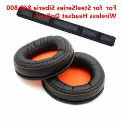 Replacement Ear Pads Headbands For SteelSeries Siberia 840 8