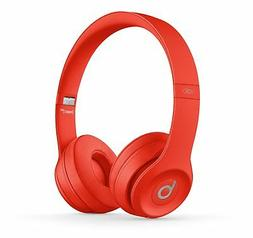 NEW - Beats by Dre SOLO 3 Wireless Headphones PRODUCT RED Sp