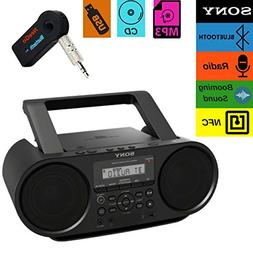 Sony Bluetooth Portable Cd Player Stereo Sound System Bundle