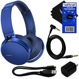 Sony Bluetooth Wireless Over-Ear Headphones with Extra Bass