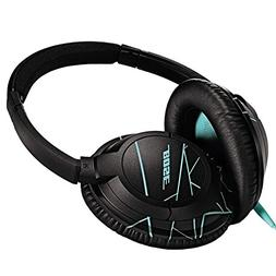 Bose SoundTrue Headphones Around-Ear Style, Black/Mint