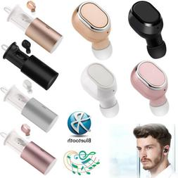Stereo Wireless Earbuds Bluetooth Headphones Dual Earphones