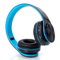 Stylish Fold Wireless Stereo Sport Bluetooth Headphones Ear-